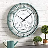 FirsTime & Co. Laguna Outdoor Wall Clock, 18',...