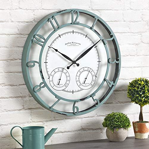 FirsTime & Co. Laguna Outdoor Wall Clock