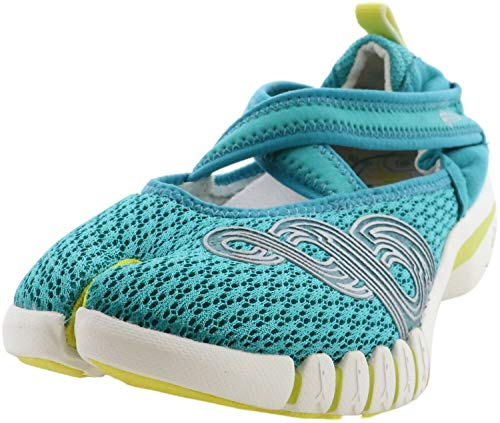 Ahnu Womens Yoga Split Running, Cross Training Shoes Green 10.5 Medium (B,M)