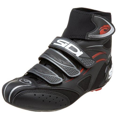 SIDI Hydro G-Tex - Scarpe da Ciclismo da Uomo, Nero (Nero), 40 2/3 EU