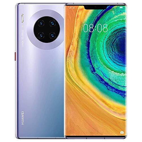 Huawei Mate 30 Pro 6.53' 128 GB 8 GB RAM (gsm Solamente, sin CDMA) Desbloqueado de fábrica sin garantía – 4G LTE versión China sin Aplicaciones de Google (Color Plateado)