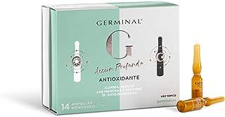 Germinal Acción Profunda Antioxidante Noche y Día - Serum Facial con Vitamina C, Vitamina E y Vitamina B12 con Efecto Antimanchas, Antiedad y FPS 30-7 Ampollas Día x 1ml, 7 Ampollas Noche x 1ml