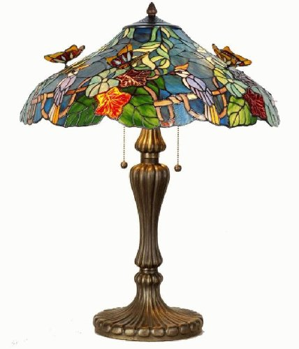 Lumilamp 5LL-5582 Tiffanylampe Tischlampe Tiffany Lampe 5582