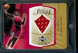 2002-03 Upper Deck Sweet Shot Eddy Curry Swatches Jersey Chicago Bulls Basketball Card- Mint Condition