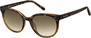 Fossil Sunglasses for Women, Brown