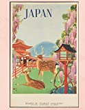 Japan: Vintage Travel Poster Cover | Jan 1, 2021 to Dec 31, 2021 | Full Year Calendar Page | 8.5 X 11 Inches | 120 Pages | Inspirational Quotes & Pages for Notes