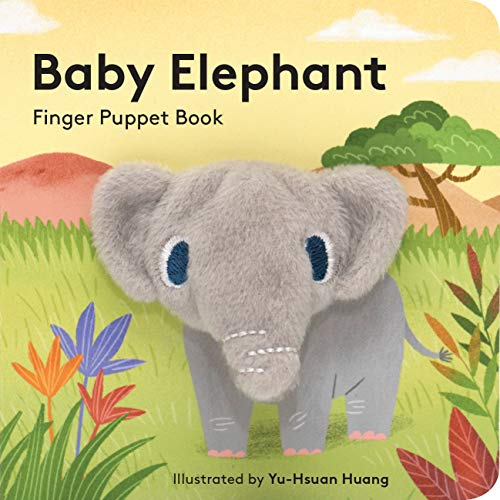 Baby Elephant: Finger Puppet Book: (Finger Puppet Book for Toddlers and Babies, Baby Books for First Year, Animal Finger Puppets) Hawaii