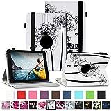 NAUC Tablet Schutzhülle für Medion Lifetab P8912 Hülle Tasche Standfunktion 360° Drehbar Cover Universal Hülle, Farben:Motiv 8