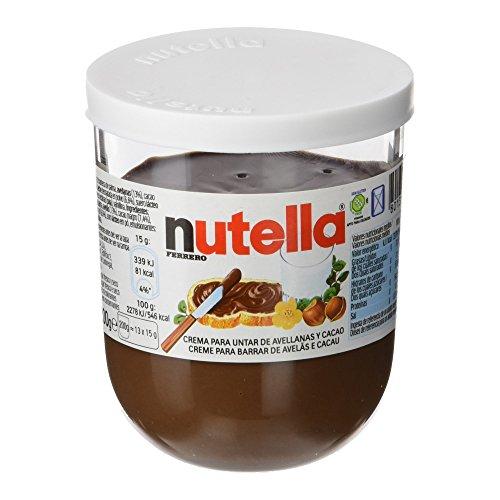 Nutella - Ferrero - Crema Cacao - 1 bote de 200 g