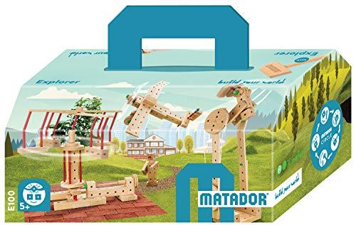 MATADOR Explorer E 100 , Packungsinhalt 222 Teile
