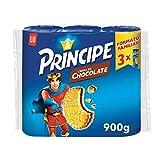 Príncipe Original - Galletas Rellenas de Chocolate con Leche - 3 Paquetes de 300 g