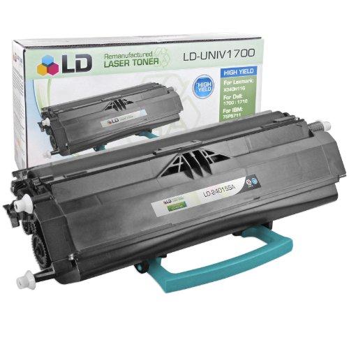 Compatible LEXMARK 24035SA Toner Cartridge, Black, Page Yield 2.5K, Works For E230, E232, E232T, E234, E234N, E234TN, E240, E240N, E240T, E330, E332, E332N, E332TN, E340, E342, E342TN