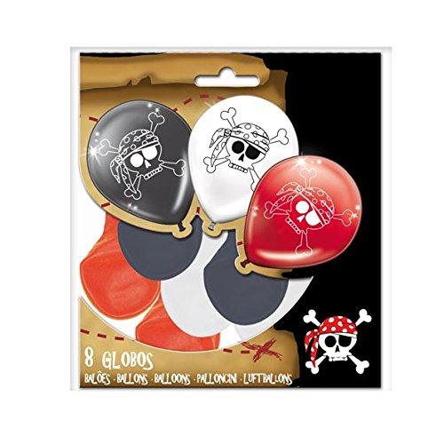 Verbetena - 8 globos Piratas
