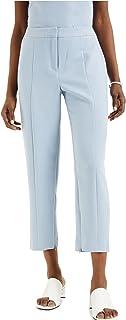 ALFANI Womens Light Blue Straight leg Wear To Work Pants AU Size:20