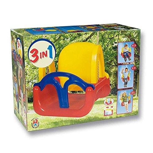 Green Garden 8306-0000, Columpio infantil 3 en 1, colores surtidos