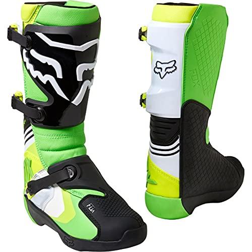 Fox Racing Herren COMP MOTOCROSS BOOT Stiefel, grün/gelb, 12