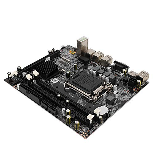 Tonysa Desktop-Motherboard Computer-Mainboard, H55M-USB LGA1156 DDR3-Motherboard Hochleistung