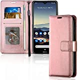 TECHGEAR Case Fits Nokia 5.3 Leather Wallet Case, Flip