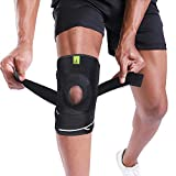 BERTER Knee Brace Support, Men Women Knee Compression Sleeve Breathable Knee Pad & Recovery Aid, Open Patella with Strap...