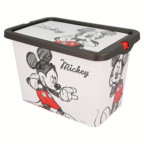 Stor Topolino Mouse-02644 Scatola portaoggetti Click, Multicolore, Medium ST-02644