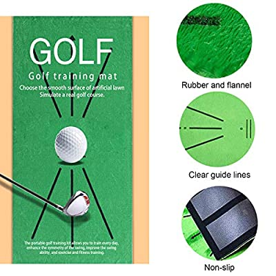 RUIZHUO Golfmatte tragbare Golf