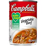 Campbell's Condensed Healthy Request Vegetable Beef Soup, 10.5 oz. Can (Pack of 12)...