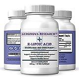 Best R Lipoic Acids - GeroNova Research Stabilized Bio-Enhanced R-Lipoic Acid - Premium Review