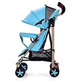 Olydmsky Carro bebe,Cochecito bebé silla de paseo plegable portátil Ultra ligera