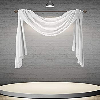 Best sheer scarf valance Reviews
