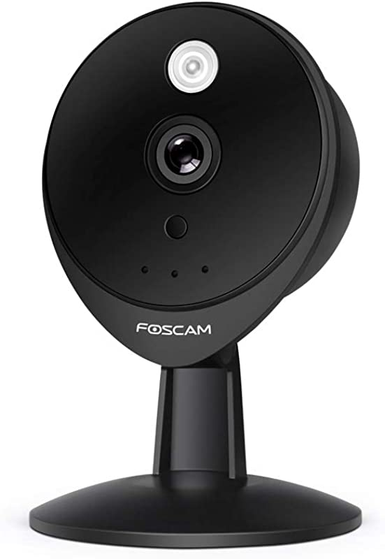 Foscam C2E Full HD 1080P Wifi Security IP Surveillance Camera With Activity Detection Alerts 115 Wide View Angle Home Baby Pet Camera Night Vision Up To 26ft APP And Cloud Service Available