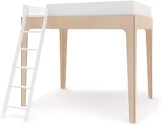 Oeuf Perch Full Loft Bed - White/Birch