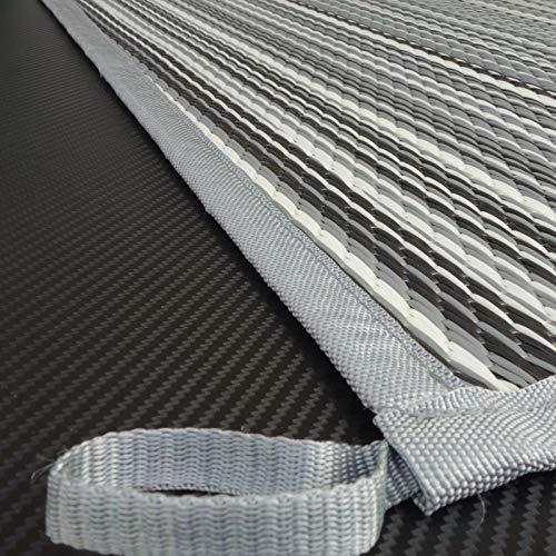 Schlauchland Zeltteppich ´´´odooro WAVETEX Stripe 2,7m x 3m *** 400 g/m² Outdoor Teppich Vorzelt Teppich Garten Spieldecke