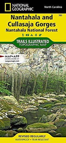 Nantahala and Cullasaja Gorges [Nantahala National Forest] (National Geographic Trails Illustrated Map, 785)