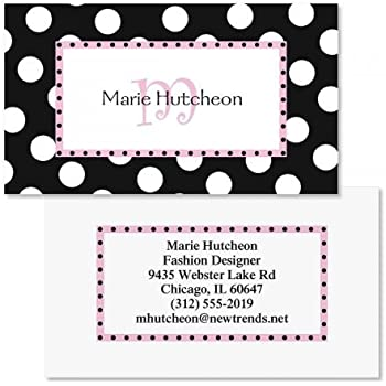 Matte Set of 250 2 x 3-1//2 custom business card design; 80# Cover Stock Opaque Butterfly Business Cards