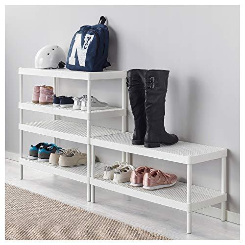 IKEA/イケアMACKAPARシューズラック78x32cmホワイト60334760
