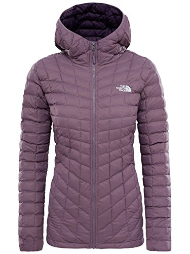 THE NORTH FACE Damen Thermoball Hoodie Hike, Black Plum, M