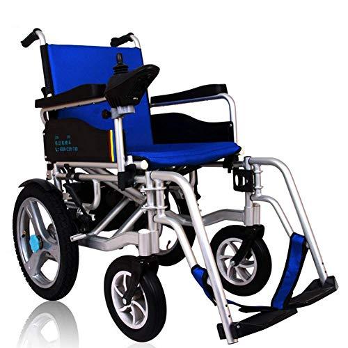 WXDP Silla de ruedas autopropulsada, potencia portátil, con batería de ion de litio 20Ah Dual Motor eléctrico, soporte 350 libras