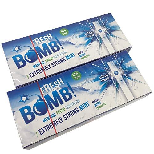 500 Tubes Fresh Bomb Arctic Strong Mint Click Tubes Filterhülsen 5 Boxen