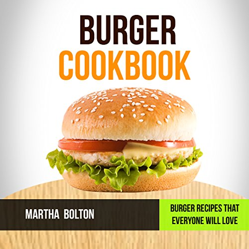 Burger Cookbook audiobook cover art