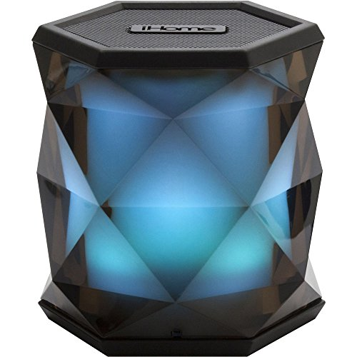 iHome Color Changing Rechargeable Bluetooth Wireless Speaker with Speakerphone