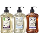 PAMPER YOUR HANDS with decadent natural hand soap from A La Maison de Provence. Our liquid soap creates a foamy lather that washes away dirt and impurities while delighting your senses with a fresh Fig & Basil, Lavender Aloe & Fresh Sea Salt Aroma. T...