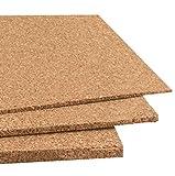 Plancha de corcho 91,5x61 cm diferentes grosores (unidad) (2 mm)