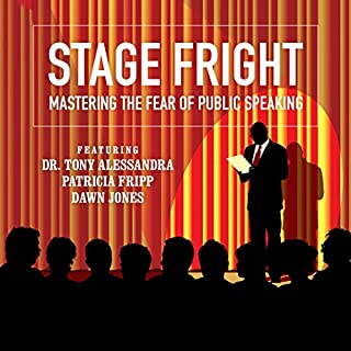 Stage Fright audiobook cover art