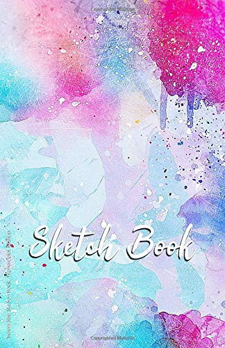 Travel Size Sketch Book - Watercolor Edition: Premium 109 Page 5.5 X 8.5 Small Watercolor SketchBook With 10 Free Pages of Drawing Prompts For ... Book & Small Sketchbook Watercolor Series)