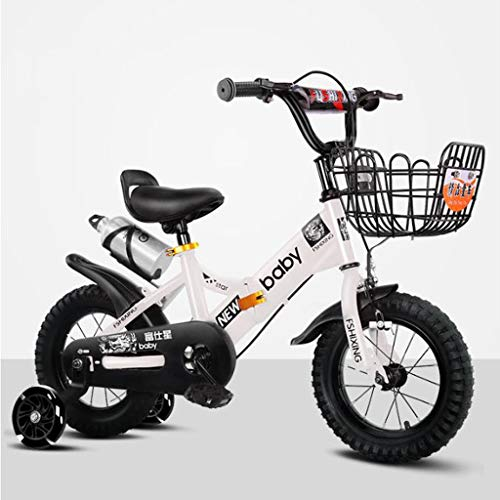 Bicicleta para Niños, Bicicleta Infantil, Plegable del niño de acero de la...