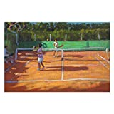 Tennis Practise Cap D'Adge France Puzzles for Adults, 1000 Piece Kids Jigsaw Puzzles Game Toys Gift for Children Boys and Girls, 20' x 30'