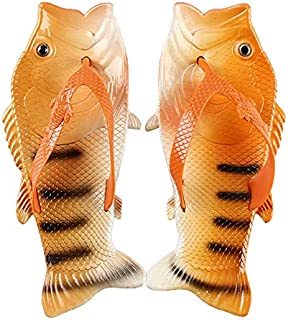 Zapatillas de playa con forma de cocodrilo para uso al aire libre en el hogar, baño, padres e hijos con forma de pescado y...