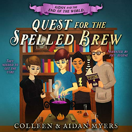 Quest for the Spelled Brew  By  cover art
