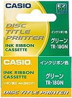 カシオ ディスクタイトルプリンター インクリボン TR-18SR シルバー