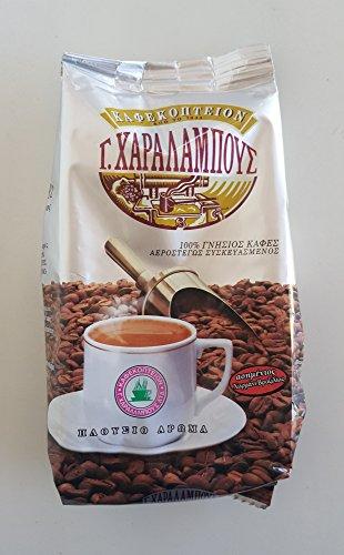Traditionelle griechische Zypern gemahlenen Kaffee Charalambous Silber Mokka - 1 Packung von 200g